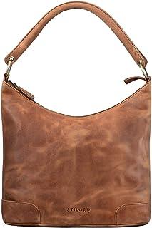 "STILORD Tessa"" Handtasche Damen Leder Groß Shopper Ledertasche Hobo Tasche Elegante Vintage Schultertasche Tote Bag aus Echtem Leder"