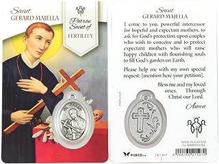 Saint Gerard Majella Healing Prayer Card