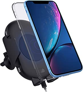 Qi Wireless Car Charger Mount, Zttopo Automatic Wireless 10W Fast Charging Air Vent Phone Holder, Infrared Motion Sensor Compatible with iPhone Xs/XS MAX/XR/X/8/8 Plus, Galaxy Note 9/S9/S8/S8 Plus/S7