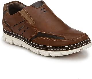 Alberto Torresi DOMNOC TAN+Dark Brown Casual Shoes