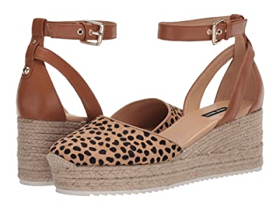 Nine West Audra (Camel/Black) Women