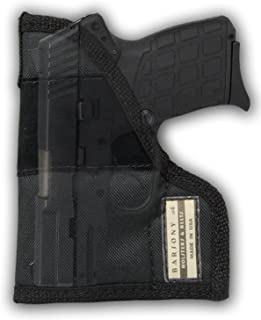 Barsony New Pocket Holster for 380 Ultra-Compact 9mm 40 45 Pistols