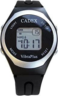 CADEX VibraPlus Sport, Up to 8 Vibrating and/or Sound Alarms, Rubber Sport Band
