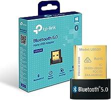【Nuevo】 TP-Link UB500 - Adaptador Bluetooth 5.0 USB, Tamaño Mini para Ordenador, portatil, Auriculares, Altavoz,...
