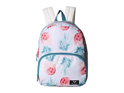 Roxy Always Core Backpack (Marshmallow Big Pineapple) Backpack Bags