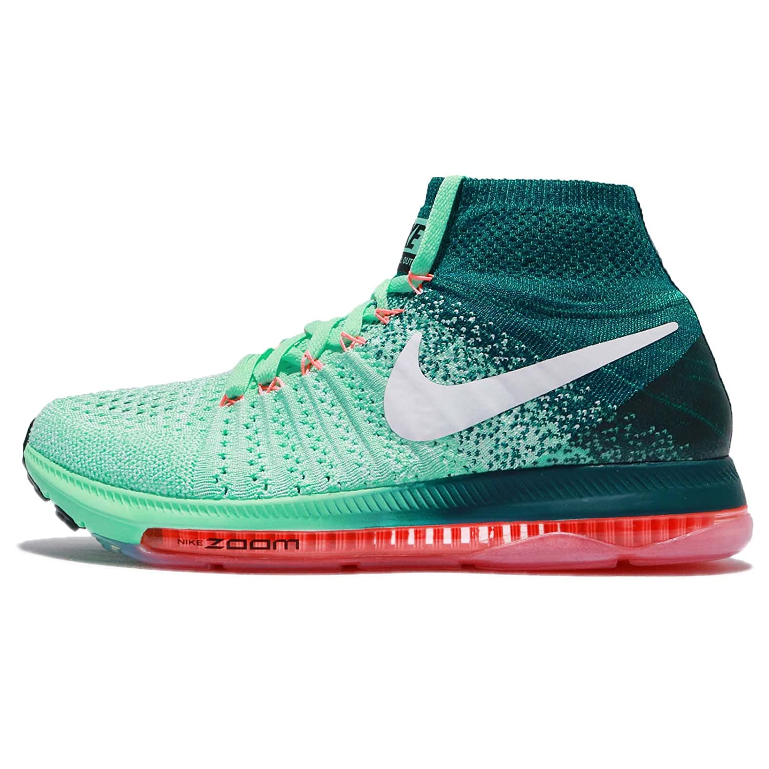 Nike Womens Zoom All Out Flyknit Running Trainers 845361 Sneakers Shoes