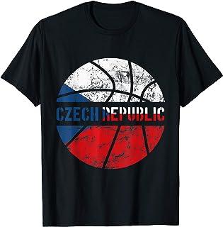 Czech Republic Basketball Jersey Gift Flag for Fans & Lovers T-Shirt