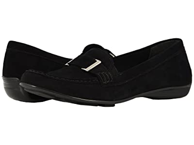 Walking Cradles March (Black Suede) Women