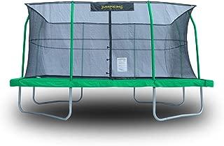 JumpKing 10 x 14 Foot Rectangular Trampoline with Safety Net Siding