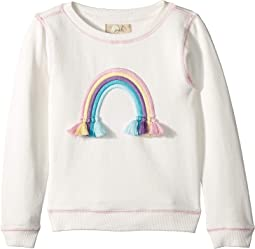 Rainbow Sweatshirt (Toddler/Little Kids/Big Kids)