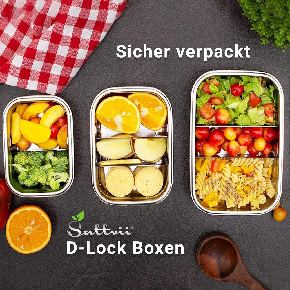Sattvii Edelstahl Lunch Box
