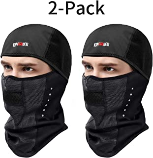 KINGBIKE Balaclava Ski Mask Motorcycle Running Full Face...
