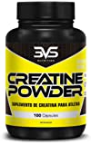 Creatina Monohidratada Creatine Powder Caps 100 Cápsulas 3Vs
