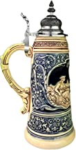 German Beer Stein 1.5 liter tankard, beer mug Limited Edition 2021 Father Rhine and Mother Mosel Stein (German Corner), co...
