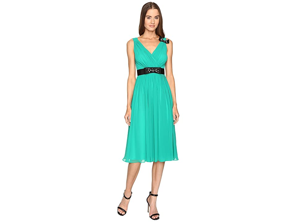 Kate Spade New York Embellished Bow Dress (Emerald Ring) Women