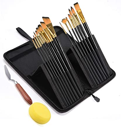 10 Sizes High Quality Miniature Artist Paint Brush for Fine Painting of Miniatures Micro Art Scale Models Intbase 10 Pcs Professional Detail Paint Brush Airplane Kits Nail Face
