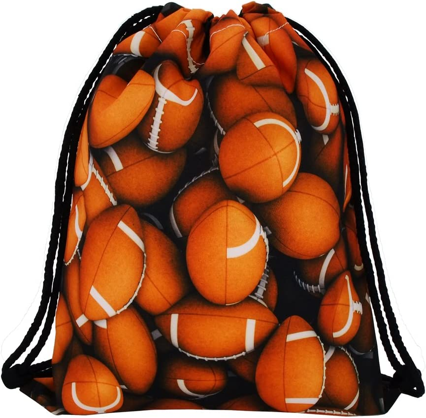 Jom Tokoy Drawstring Super sale period limited Bag for Boys Football Bags Gym Girls Ranking TOP8 and