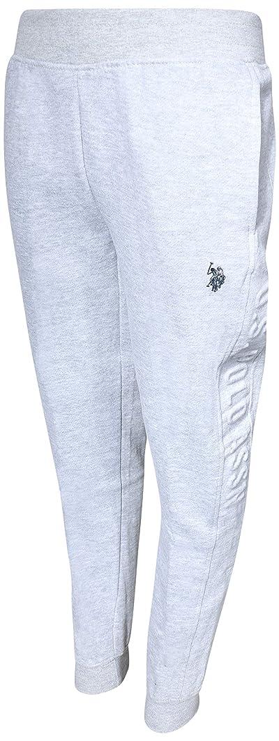 U.S. Polo Assn. Boys Fleece Jogger Sweatpants with Logo