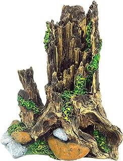 Gumolutin Fish Tank Aquarium Decorations Resin Wood Large Tree Root Aquarium Ornament 8