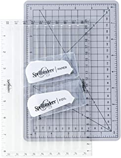 Spellbinders Quick Trimmer Hot Foil & Paper Cutter Tool, Clear