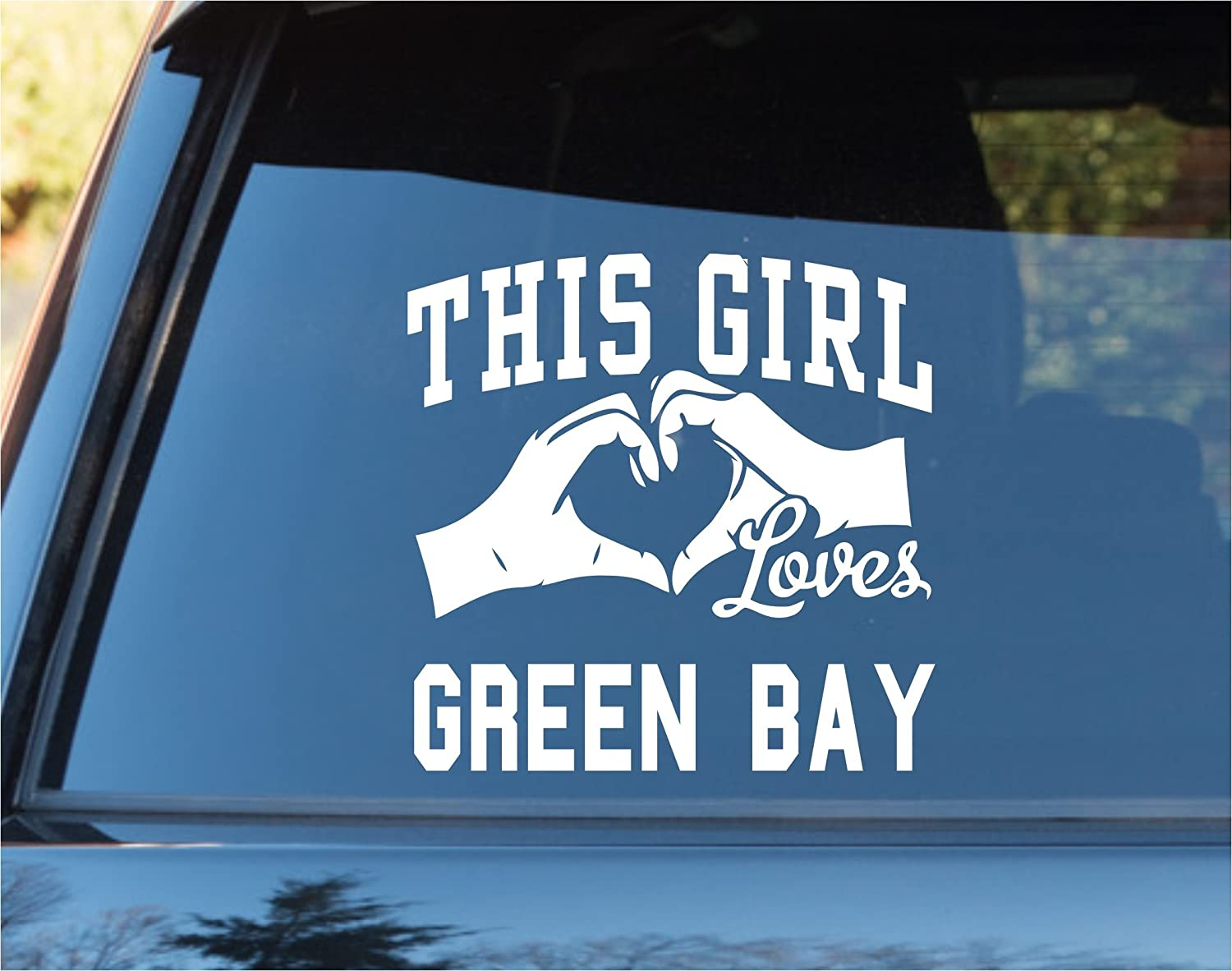 DABBLEDOWN DECALS This Girl Loves Ranking TOP15 Green Wi Car Sticker Super special price Decal Bay