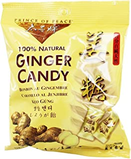 Prince of Peace Ginger Candy, 4 Ounce (Pack of 6)