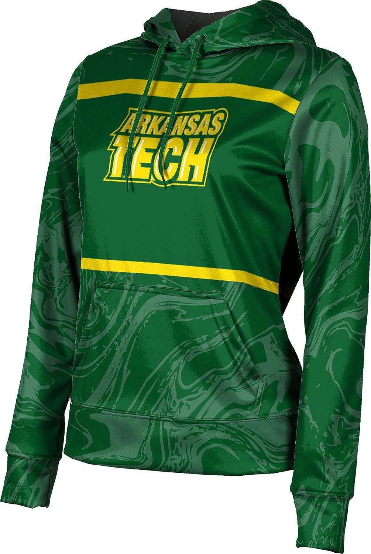 ProSphere Arkansas Tech University Girls' Pullover Hoodie, School Spirit Sweatshirt (Ripple)