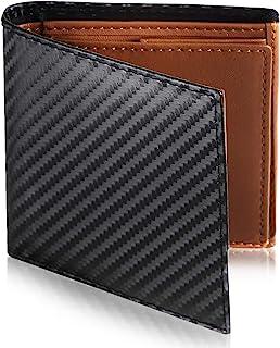 [Le sourire] 極小 ミニマリスト 二つ折り 財布 ビジネスマンの本革財布 極小×機能性 メンズ