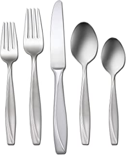 Oneida Camlynn 45 Piece Casual Flatware Set, 18/0 Stainless, Service for 8