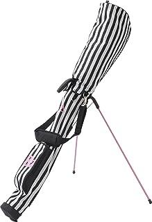 le coq sportif(ルコックスポルティフ) ゴルフグッズ ゴルフ セルフクラブケース メンズ QQL5109 (N100)ブラック×ホワイト FREE