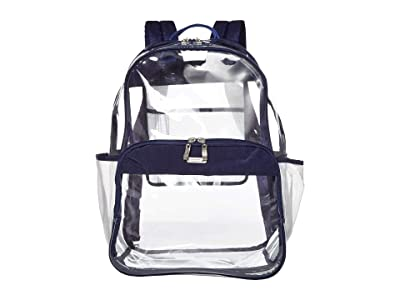 Baggallini Clear Event Compliant Large Backpack (Dark Blue) Backpack Bags
