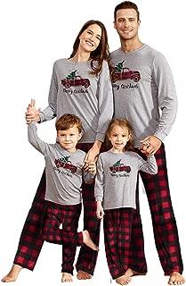 Matching Family Pajamas Sets Christmas PJ's Sleepwear for...