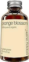 Orange Blossom Water Toner for Face & Skin - Vegan Certified, Cruelty-Free, Organic - Hand Made, Pure Orange Flower Water, 4 oz