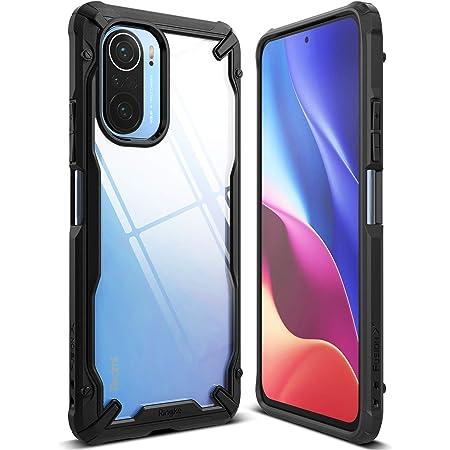 Ringke Fusion-X Phone Case Compatible with Xiaomi Poco F3 Case/Redmi K40 Cover Rugged Protective Design Heavy Duty for Men, Women - Black