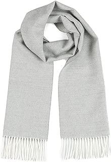 Herringbone Alpaca Scarf - 100% Baby Alpaca Wool - Unisex