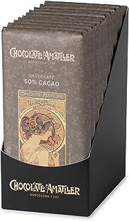 Chocolate Amatller Chocolate 50% Cacao - 100 Unidades