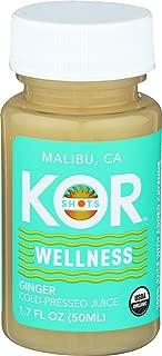 KOR Shots, Shot Wellness Ginger Organic, 1.7 Ounce