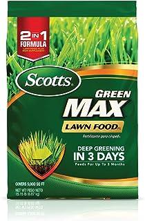 Scotts Green Max Lawn FoodFL - 5,000 sq. ft.,FloridaLawn Fertilizer Feeds Grass for 3 Months, Deep Greening in 3 Days, A...