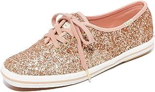 Keds Women's x Kate Spade New York Glitter Sneakers, Rose Gold, 7.5 M US