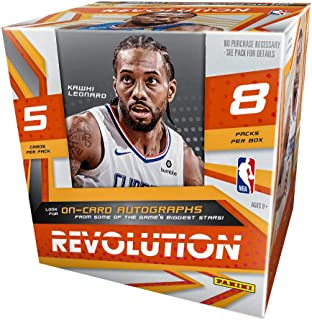 2019/20 Panini Revolution NBA Basketball HOBBY box (8 pks/bx)