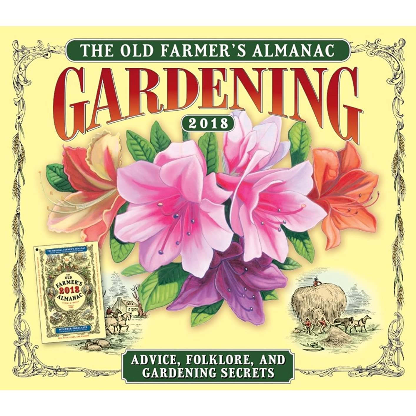 ソブリケット保証地味なThe Old Farmer 's Almanacガーデニング2018?Dailyデスクボックス版カレンダー