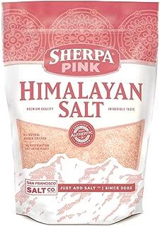 himalayan pink salt granules