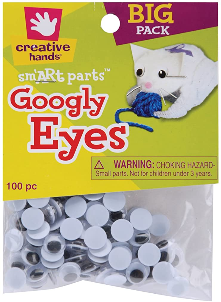 Creative Hands Googly Eyes, 10mm