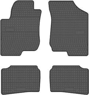 all4you Gummimatten Original Qualität Fußmatten Gummi schwarz 4 teilig