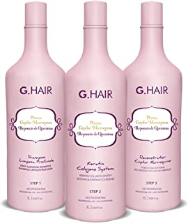 G.Hair - Plastica Capilar Marroquina - Step 1+2+3-1 Liter / 33.8oz each