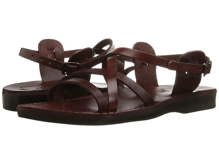 70s Shoes, Platforms, Boots, Heels Jerusalem Sandals Tzippora - Womens Brown Womens Shoes $75.95 AT vintagedancer.com