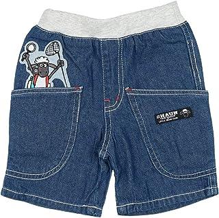 【子供服】 Little Bear Club (リトルベアークラブ) ひつじのショーンデニムパンツ 80cm~130cm N31139