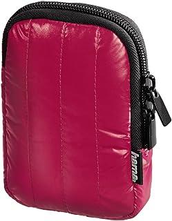 Hama Kameratasche für eine kleine Digitalkamera, Fancy Quilt 60H, Pink