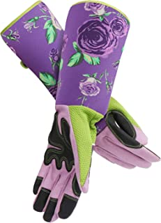 EnPoint Long Gardening Gloves,Women Rose Pruning Garden Work Gloves