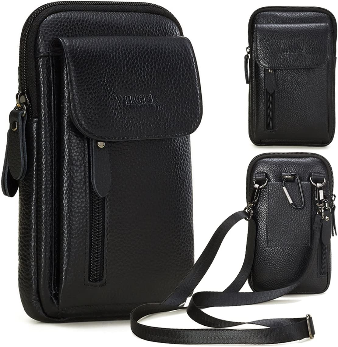 Genuine Leather Cell Phone Holster trust w P Belt Magnetic Clip Cover Lowest price challenge
